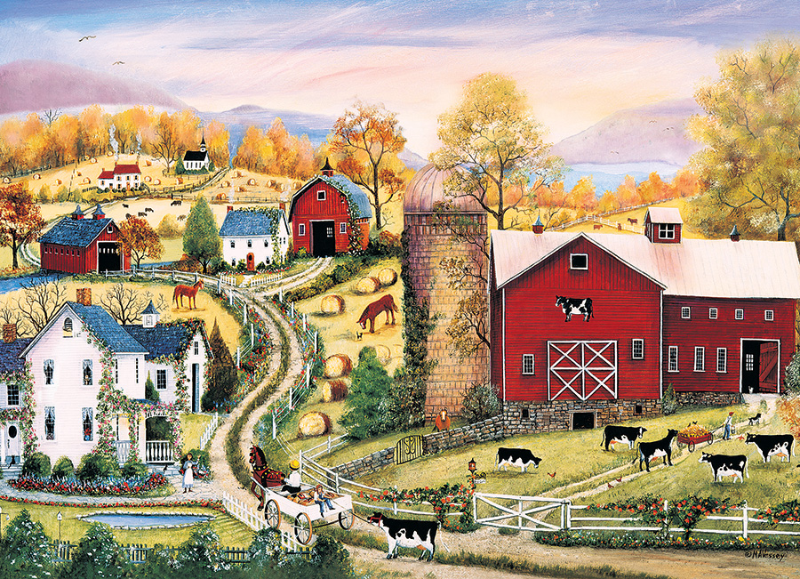 Leading the Way Farm Jigsaw Puzzle