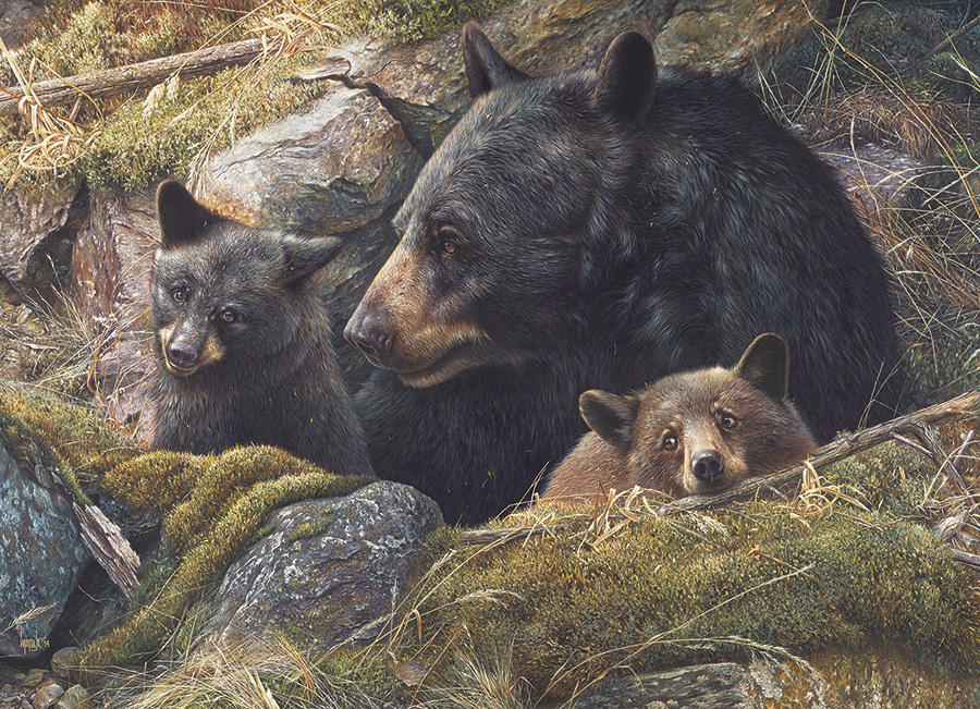 Twice the Love Bears Jigsaw Puzzle