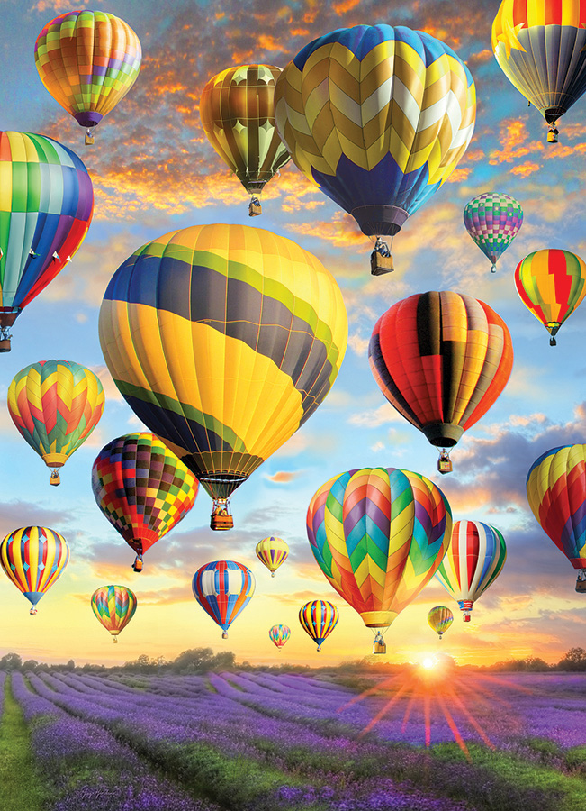 Hot Air Balloons Summer Jigsaw Puzzle