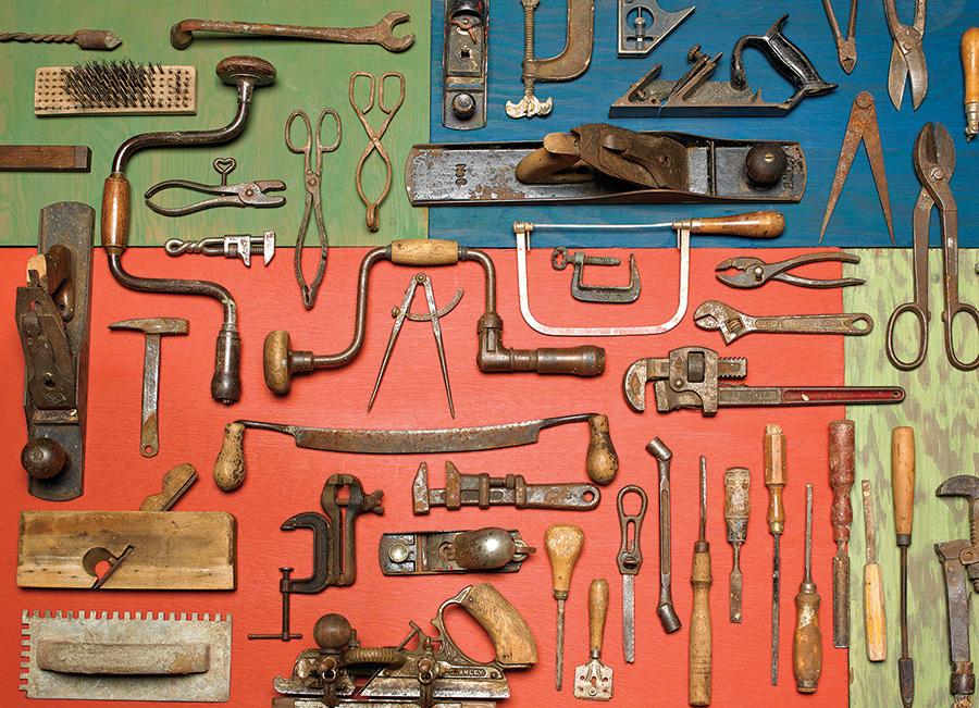 Tools Pattern / Assortment Jigsaw Puzzle