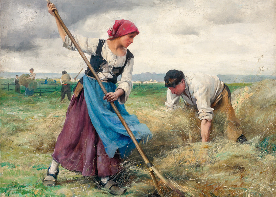 Harvesters - Scratch and Dent Fine Art Jigsaw Puzzle
