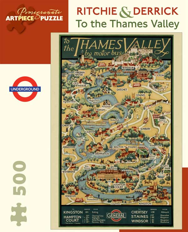 To the Thames Valley Travel Jigsaw Puzzle