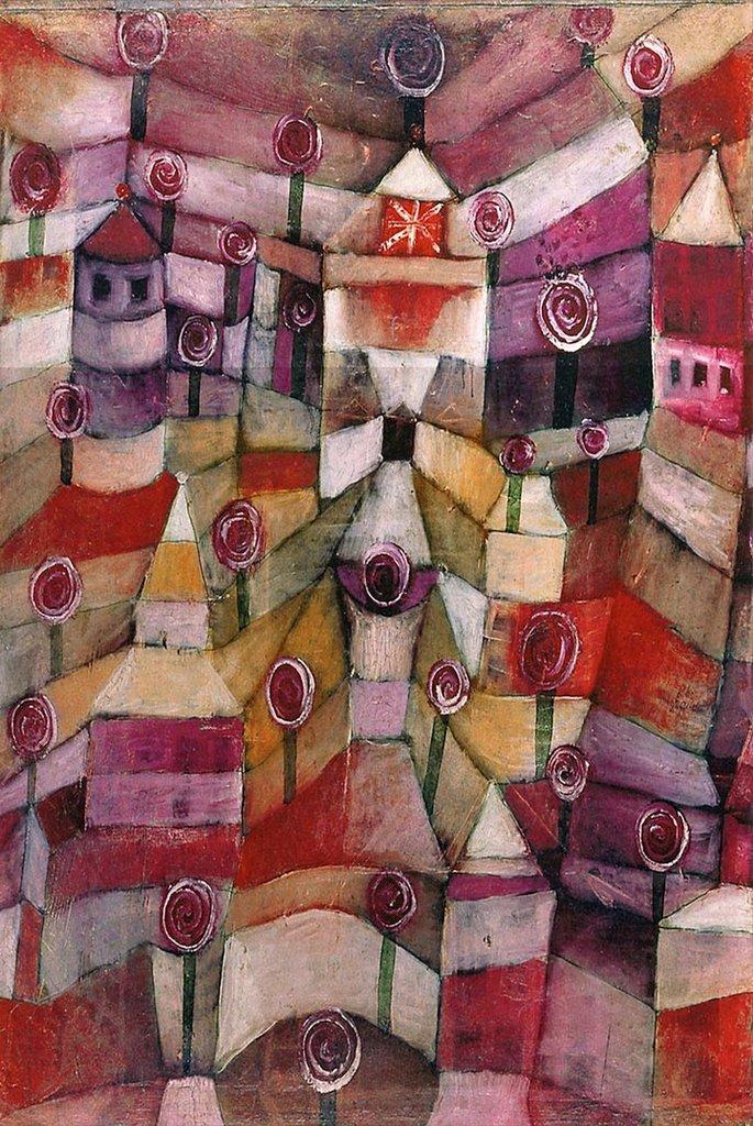 Rose Garden by Paul Klee Fine Art