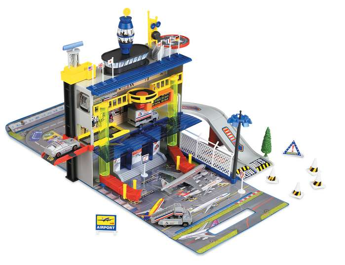 Action City Airport Playset Planes Toy