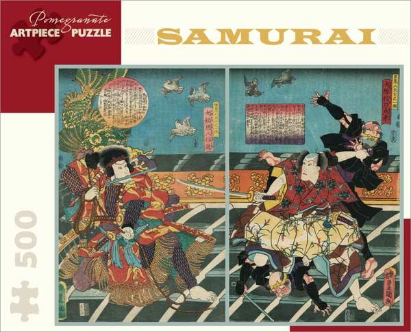 Samurai Asian Art Jigsaw Puzzle