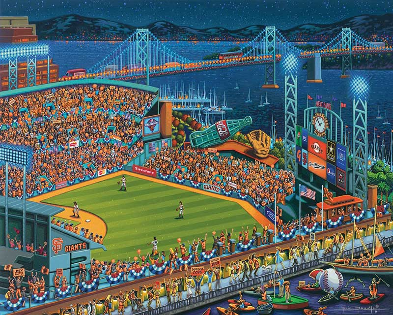 San Francisco Giants Sports Jigsaw Puzzle