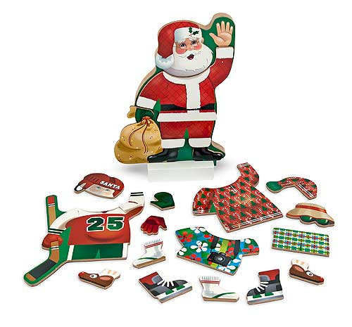 Santa Claus - Magnetic Dress-Up Christmas Magnetic