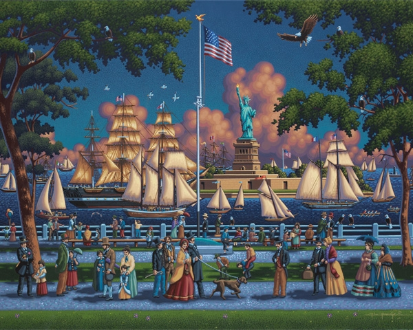 Statue of Liberty Landmarks / Monuments Jigsaw Puzzle