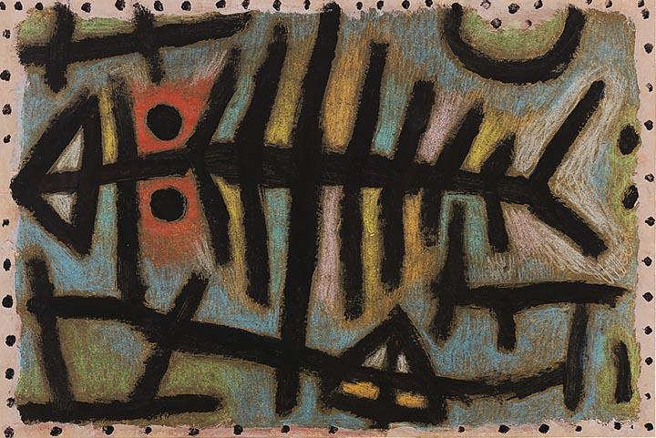 Schlamm-Assel-Fisch by Paul Klee Fine Art