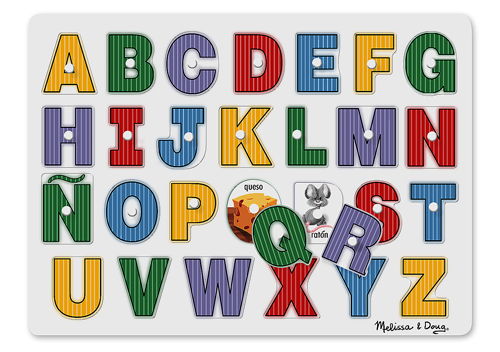 See-Inside Spanish Alphabet Educational Children's Puzzles