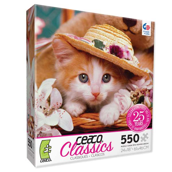 Classics - Shady Lady Cats Jigsaw Puzzle