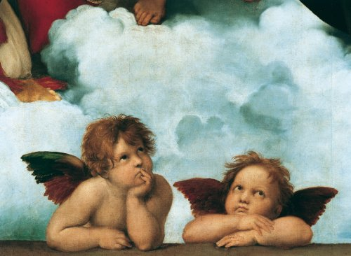 Sistine Madonna - Scratch and Dent Angels Jigsaw Puzzle
