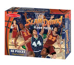Slam Dunk! - Floor Sports Children's Puzzles