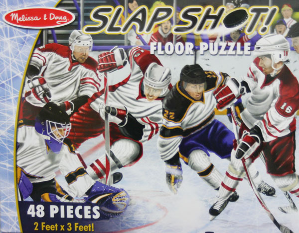 Slap Shot! - Floor Sports Children's Puzzles