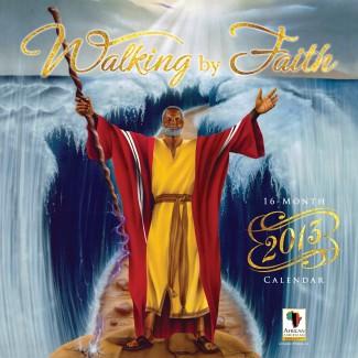 2013 Walking by Faith Calendar African American Novelty
