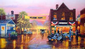 Small Town, Big Welcome Americana Jigsaw Puzzle