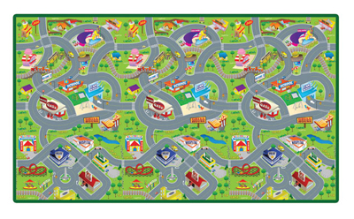 Smart Mat - Happyville Cars Toy