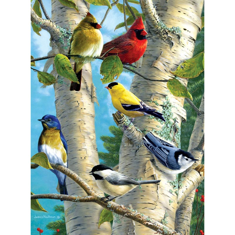 Songbird Favorites Birds Jigsaw Puzzle