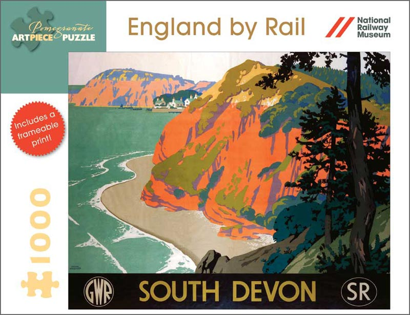 England by Rail: South Devon Mountains Jigsaw Puzzle