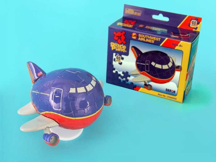 Southwest Puzzle Plane Planes 3D Puzzle