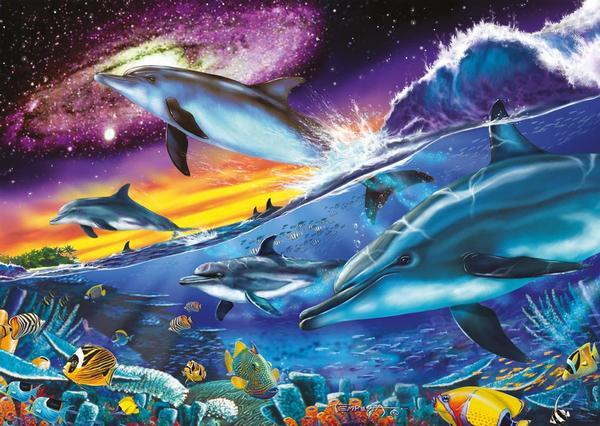 Splendid Dolphins - Glow in the Dark Dolphins Glow in the Dark