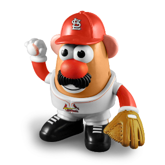 St. Louis Cardinals Mr. Potato Head Baseball Toy