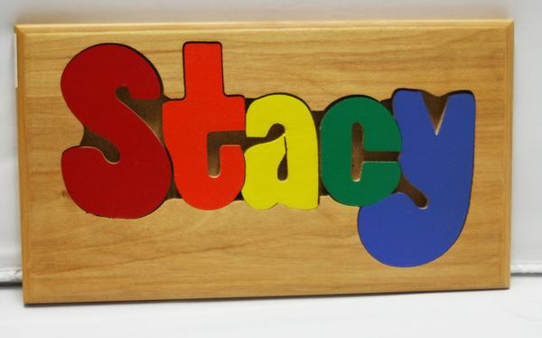 Stacy Wooden Name Puzzle