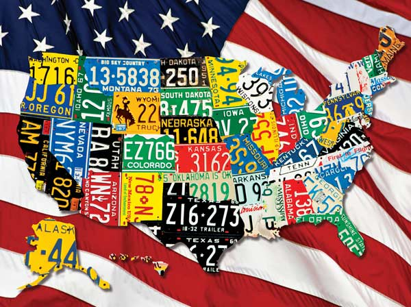 State Plates Graphics Children's Puzzles