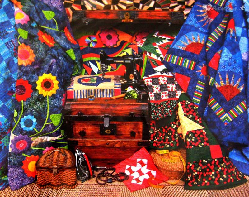 Stitch in Time Crafts & Textile Arts Jigsaw Puzzle