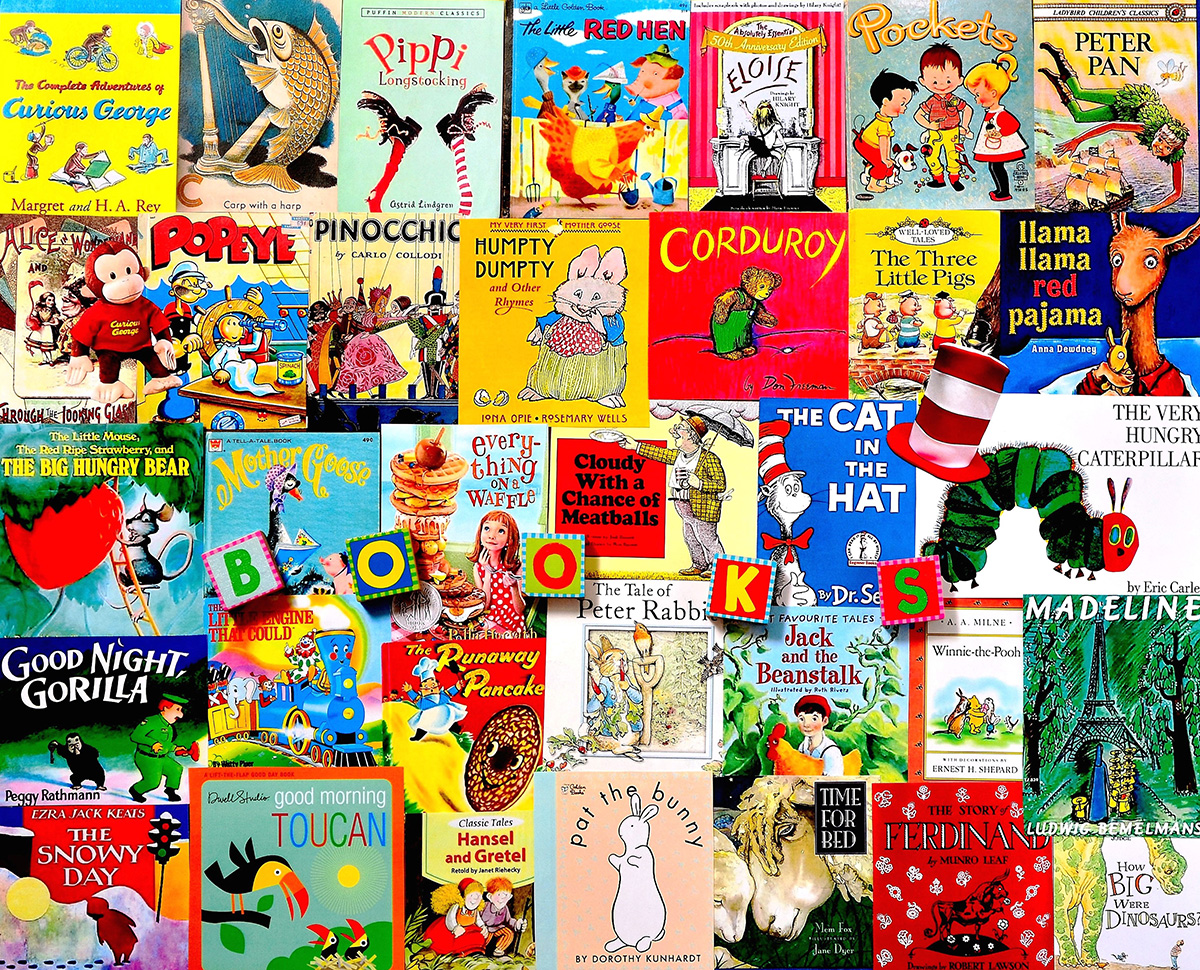 Classic Picture Books Movies / Books / TV Jigsaw Puzzle
