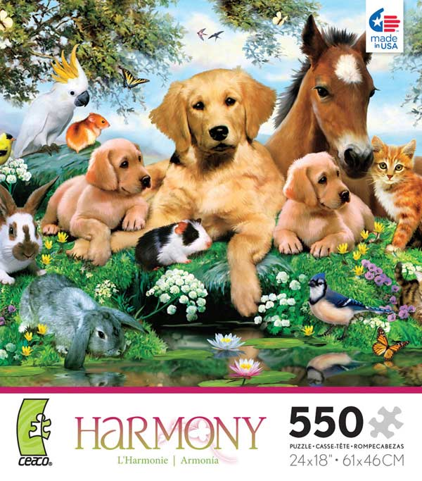 Harmony - Summer Pals Other Animals Jigsaw Puzzle