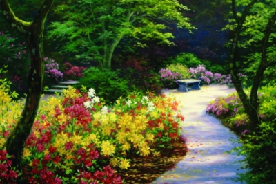 Sunny Day Summer Jigsaw Puzzle