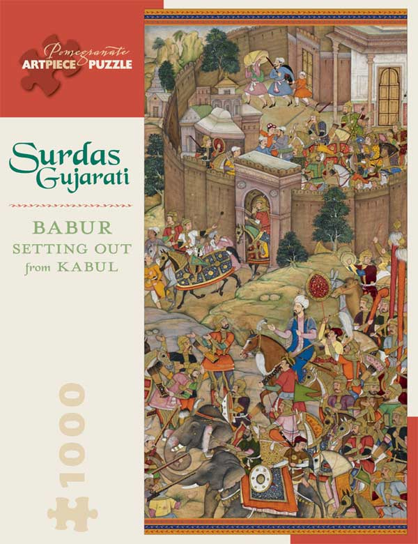 Babur Setting Out from Kabul Asian Art Jigsaw Puzzle