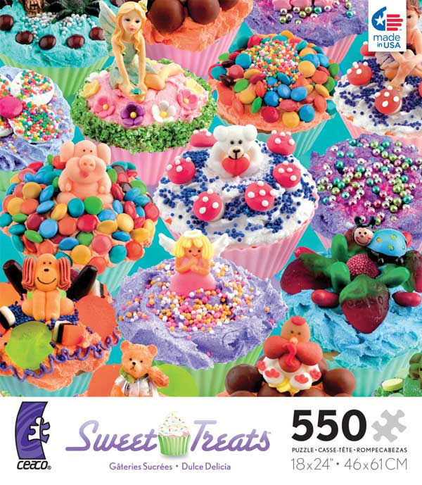 Sweet Treats - Purple Food and Drink Jigsaw Puzzle