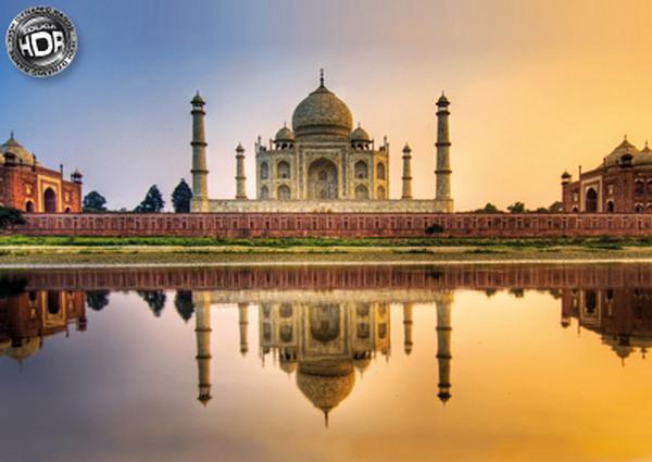 Taj Mahal, India Taj Mahal Jigsaw Puzzle