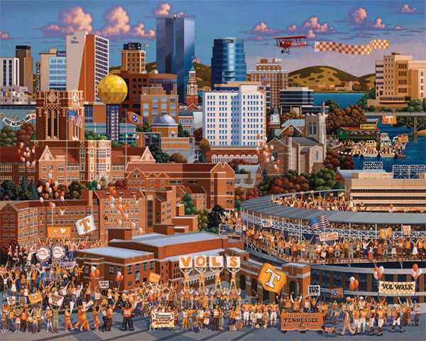 Tennessee Volunteers Sports Jigsaw Puzzle