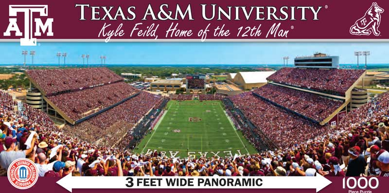 Texas A&M University Sports Jigsaw Puzzle