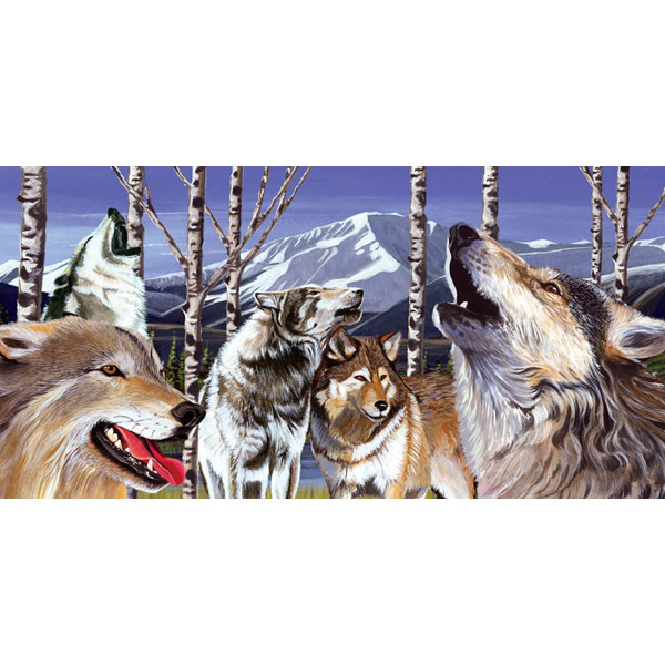 The Pack Wolves Jigsaw Puzzle