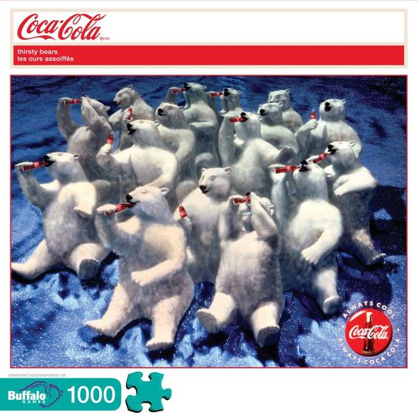 Thirsty Bears Coca Cola Jigsaw Puzzle