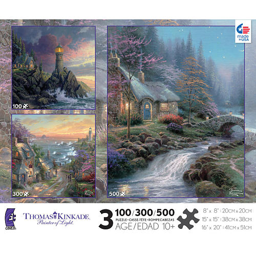Miraculous Thomas Kinkade 3 In 1 Series 7 Home Interior And Landscaping Ologienasavecom