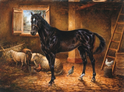 Thoroughbred Horses Jigsaw Puzzle