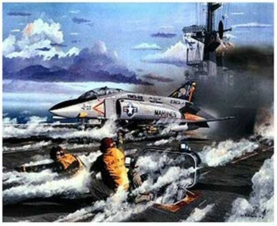 Thunder on the Deck Planes Jigsaw Puzzle