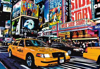 Times Square, G. Gaudet New York Jigsaw Puzzle