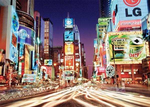 Times Square - Glow in the Dark New York Glow in the Dark