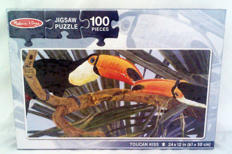 Toucan Kiss Birds Children's Puzzles