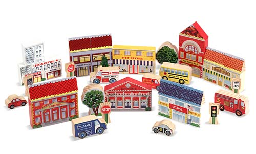 Town Blocks Toy