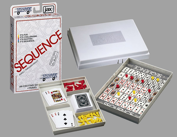 Travel Version - Sequence Game Strategy/Logic Games