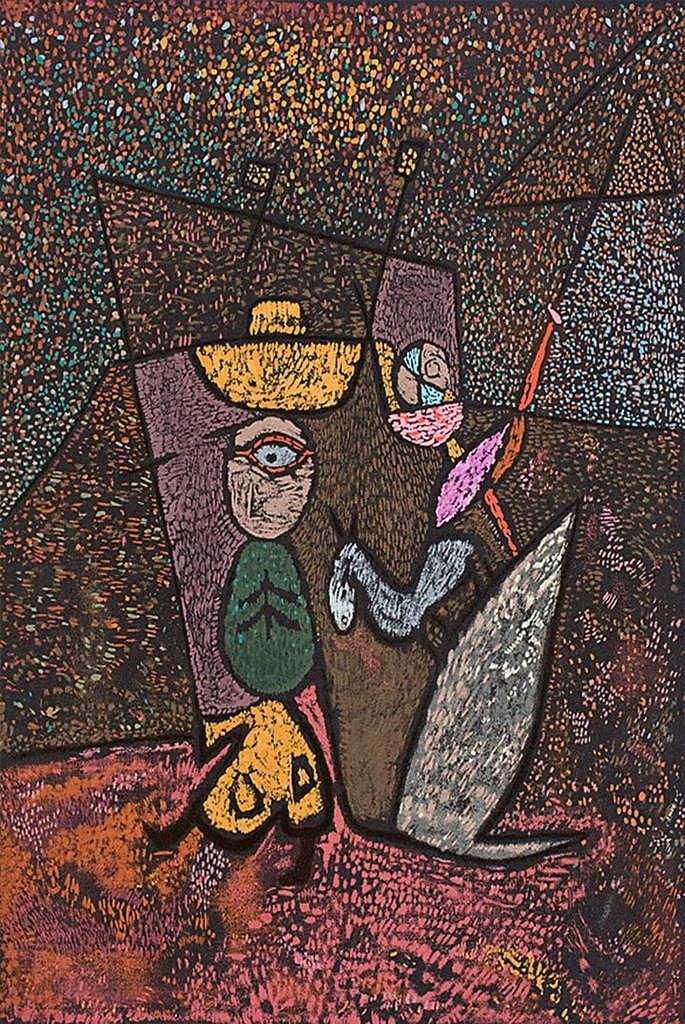 Traveling Circus by Paul Klee Fine Art