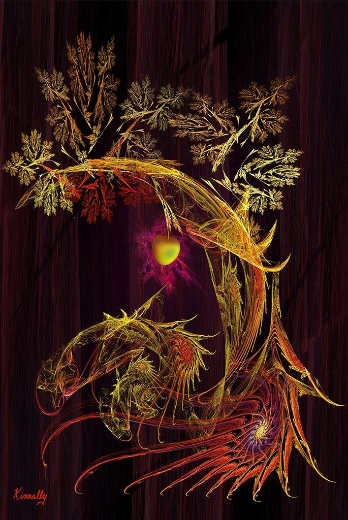 Tree of Knowledge by Kinnally Fine Art