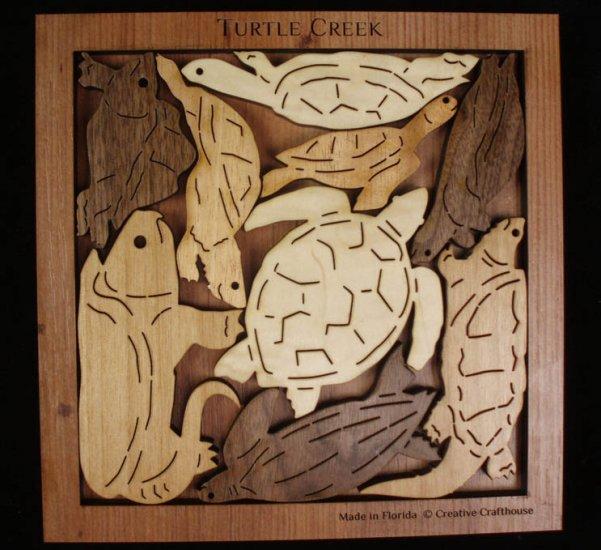 Turtle Creek Puzzle Marine Life Brain Teaser